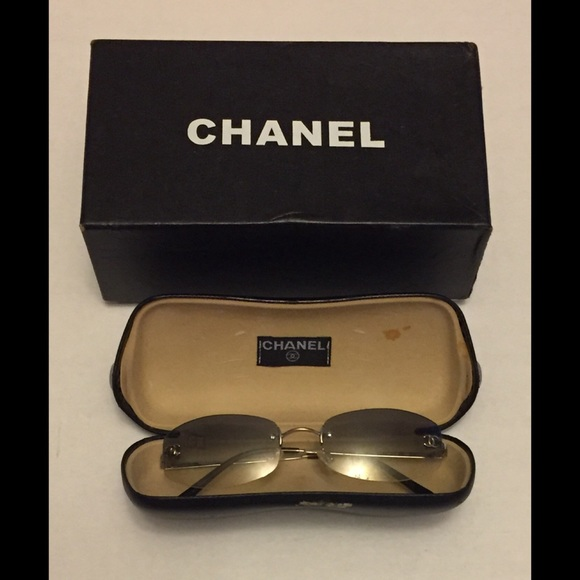 bb06dbce335eb CHANEL Accessories - CHANEL  4002 Rimless Sunglasses